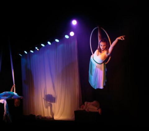 Aerial Ring/Lyra & Aerial Silks/Tissue
